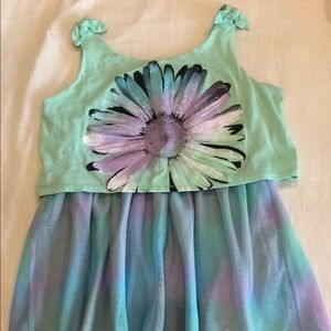 Girls Floral Shirt